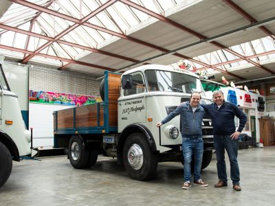 The oldest working DAF truck is 50 years old and still looks like new