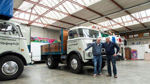 Seniausias dirbantis DAF sunkvežimis. Jis yra 50 metų ir vis dar atrodo kaip naujas