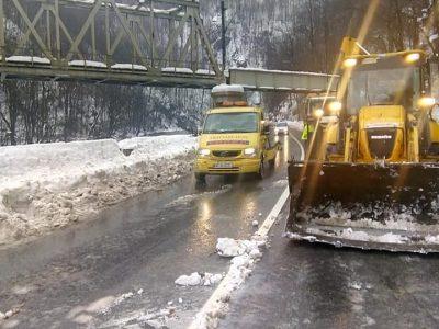 S-a deschis traficul rutier pe Transalpina între Rânca și Novaci