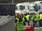 A sárgamellényesek szombaton megállítják a teherautókat a francia határon. Már ma problémák vannak a spanyol határon