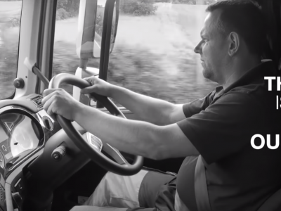 Jaudinantis filmas apie padėką sunkvežimių vairuotojams. Pažiūrėkite, nes tai tikrai verta