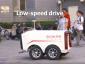 Futárrobotok: Kínában a sofőr nélküli járművek veszik át a futárok szerepét.Csaknem kétezer csomagot képesek naponta kézbesíteni