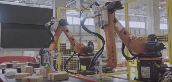 This is the future of e-commerce: completely automated warehouse in Shanghai