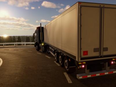 Первый симулятор дальнобойщика на игровую приставку. Встречайте игру Truck Driver