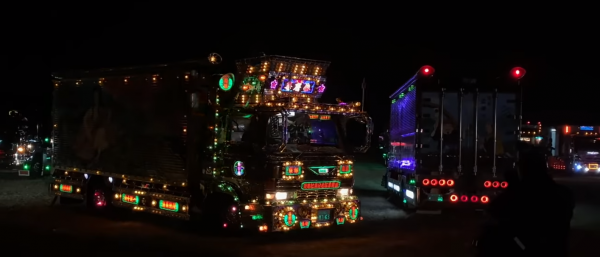 Decotoras or Japanese flashy trucks in the new Apple ad