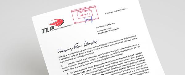TLP: apelujemy do rządu o podjęcie szeregu inicjatyw, które poprawiłyby konkurencyjność polskiego tr