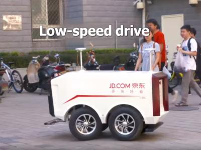 W Chinach rolę kurierów przejmują bezzałogowe pojazdy. Są w stanie dostarczyć prawie 2 tys. paczek dziennie