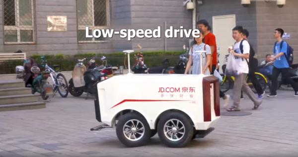 W Chinach rolę kurierów przejmują bezzałogowe pojazdy. Są w stanie dostarczyć prawie 2 tys. paczek d
