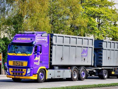 Ультрадлинные грузовики будут разрешены для движения в Финляндии