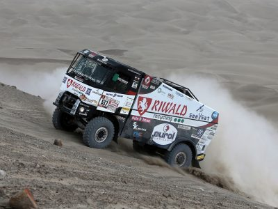 41st edition of Dakar Rally starts tomorrow. 78-year-old truck driver is among the participants