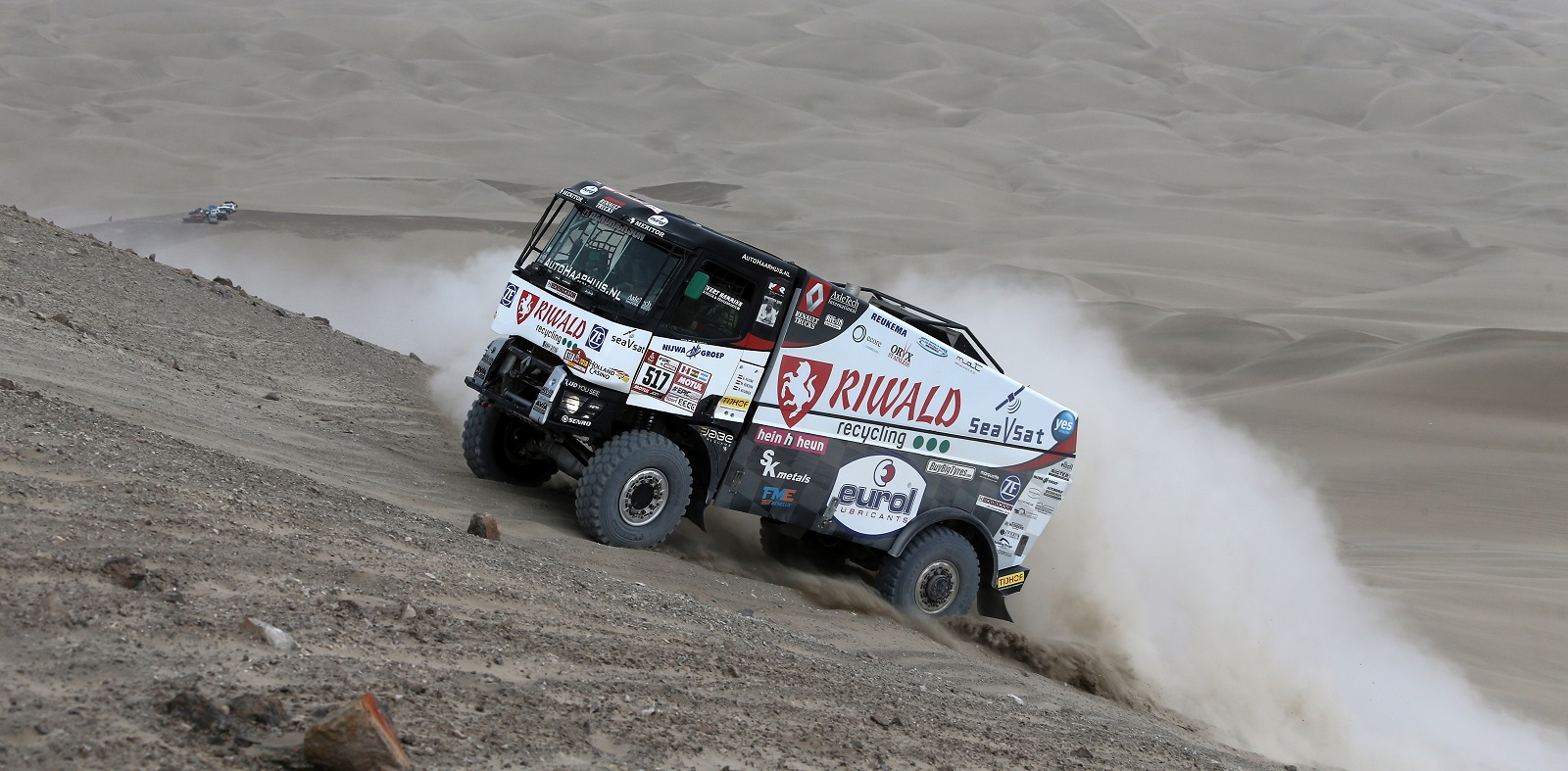 41st edition of Dakar Rally starts tomorrow. 78-year-old truck driver is