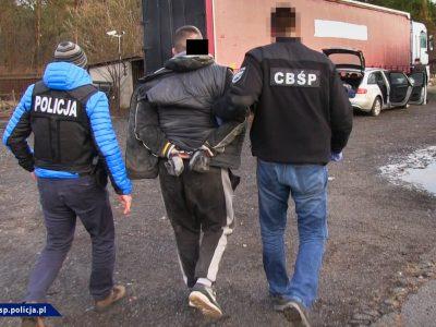 Zece infractori care furau bunuri din camioane în Europa au fost arestați în Polonia