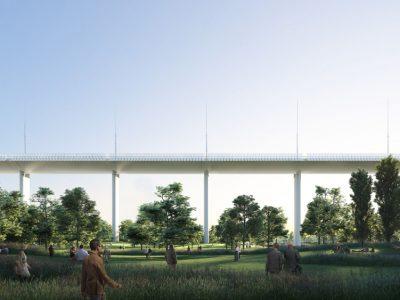 Új viadukt épül Genovában. Az építmény a tragédia áldozatainak is emléket állít.