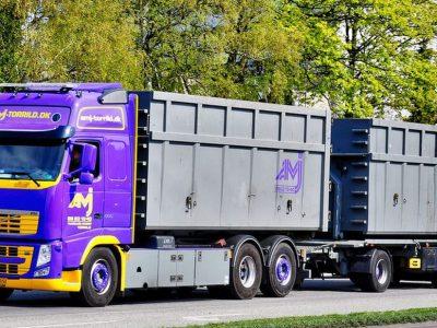 Ultra ilgi sunkvežimiai galės judėti Suomijoje