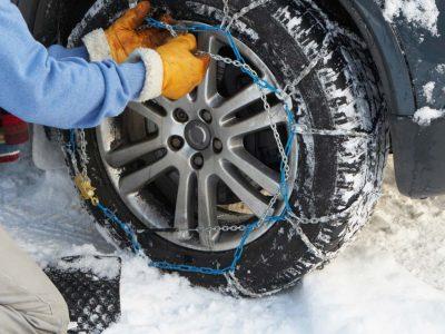 Austria: Poliția din Tirol avertizează șoferii cu privire la obligativitatea folosirii lanțurilor de iarnă