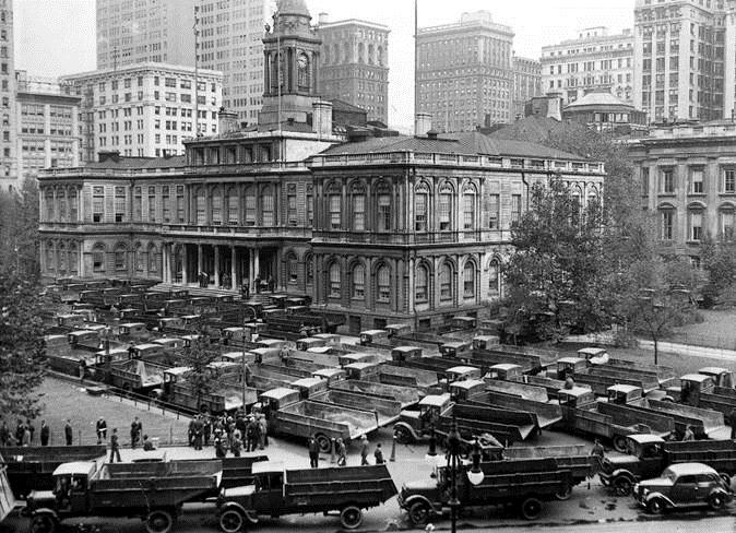 Kraftfahrerstreik 1938 New Zork