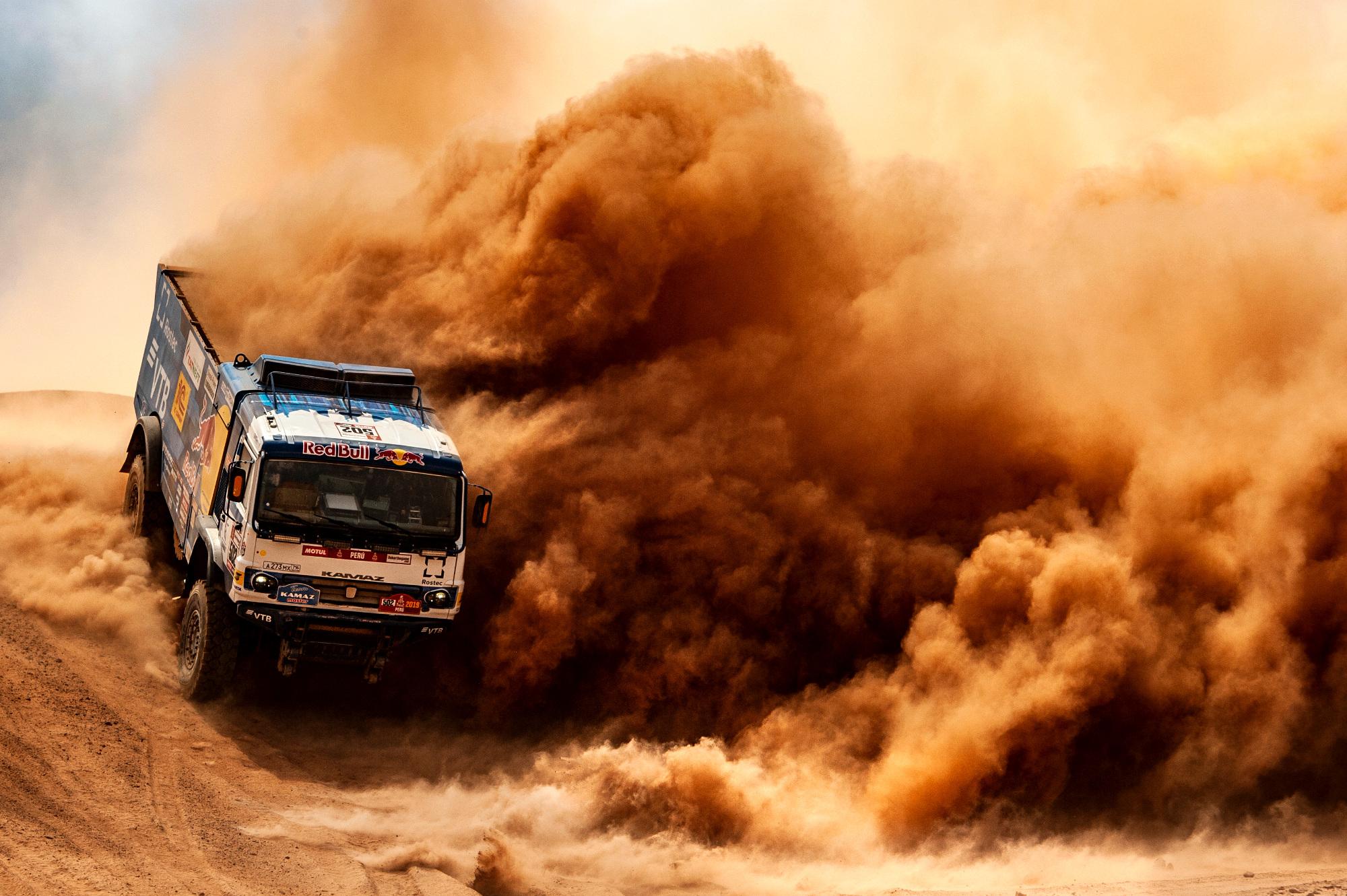 Kurz, piach i skały, czyli Dakar 2019 w obiektywie fotoreporterów