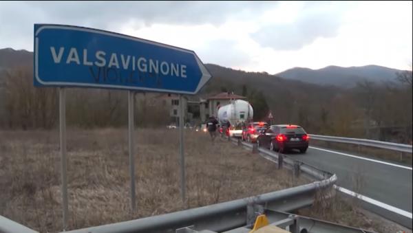 Utrudnienia w ruchu w Toskanii. Zamknięcie wiaduktu na europejskiej trasie E45 we Włoszech