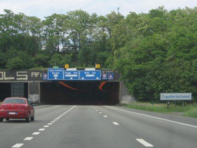 Ausländische Transportunternehmen haben für die belgische Maut 380 Mio Euro bezahlt. Das ist die Hälfte aller Einnahmen
