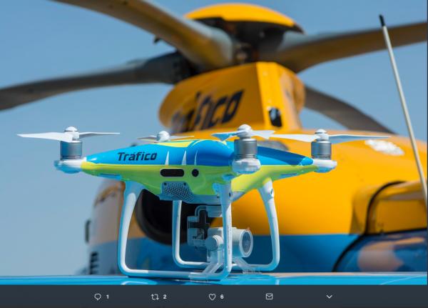 Po udanych testach Hiszpanie będą używać dronów do łapania piratów drogowych