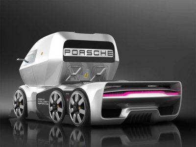 GT Vision arba kosminė kabina ir masyvūs ratai. Ar taip atrodys ateities sunkvežimiai?