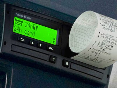 OUT režimas tachografe. Pažiūrėkite, kada galima neregistruoti vairuotojų darbo laiko