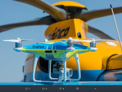 После успешных испытаний, испанцы будут использовать дроны для поимки дорожных пиратов