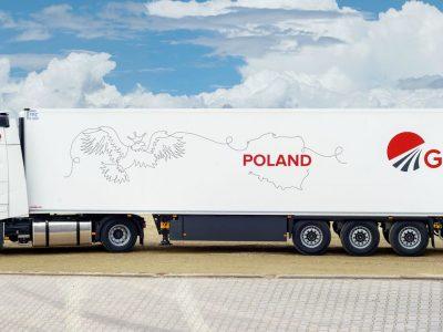 """""""Girteka"""" ieško sunkvežimių vairuotojų darbui Lenkijoje. Kokias sąlygas siūlo?"""