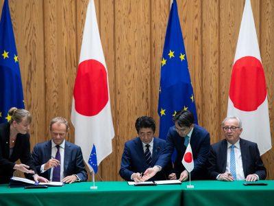 Acordul privind parteneriatul economic intre Uniunea Europeana și Japonia a intrat în vigoare