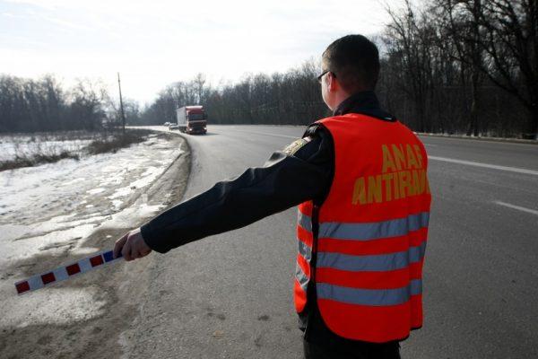 ANAF a inspectat 125.000 de vehicule de marfă și a acordat sancțiuni de 8.6 milioane de lei