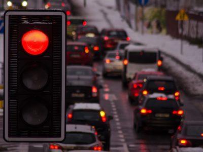 Išmanieji šviesoforai Olandijoje. Sunkvežimiams bus teikiama pirmenybė