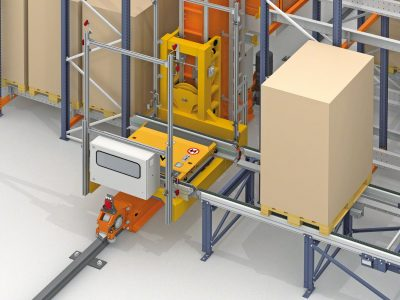See what push-back racking system has changed in chemical concern's warehouses. Logistics 4.0 in practice.