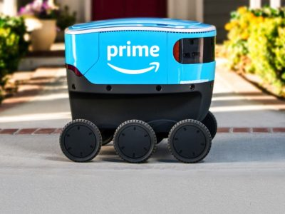 Self-driving parcels? This is the new autonomous robot by Amazon