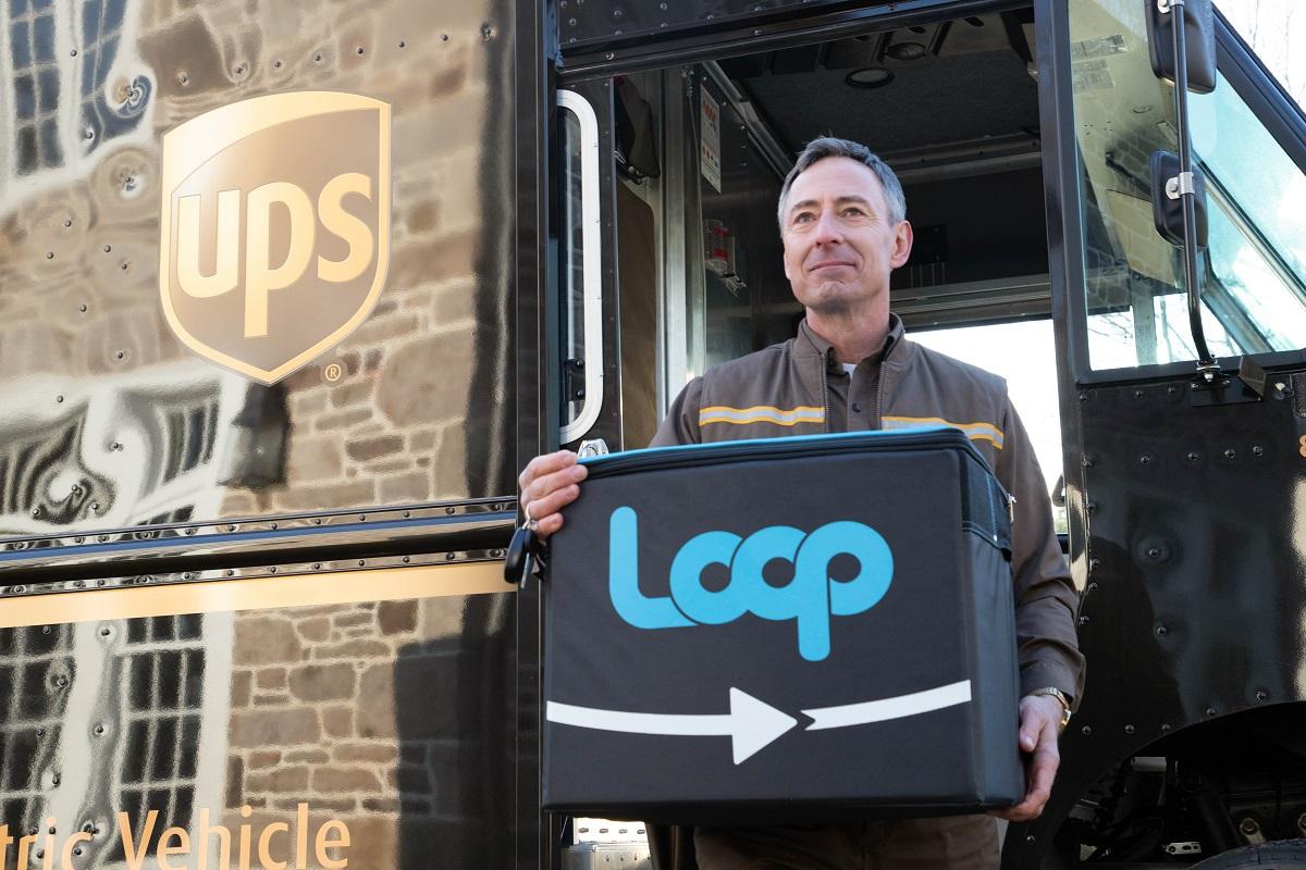 Loop, czyli opakowania wielokrotnego użytku. Tak UPS będzie transportować towary