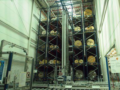 Ustalenie nowego miejsca składowania dla zapasu bębnów i szpul spełniających kryteria składowania w układnicy automatycznej – case study, cz. 1