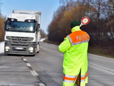 A week of increased controls in Europe. TISPOL checks trucks and buses