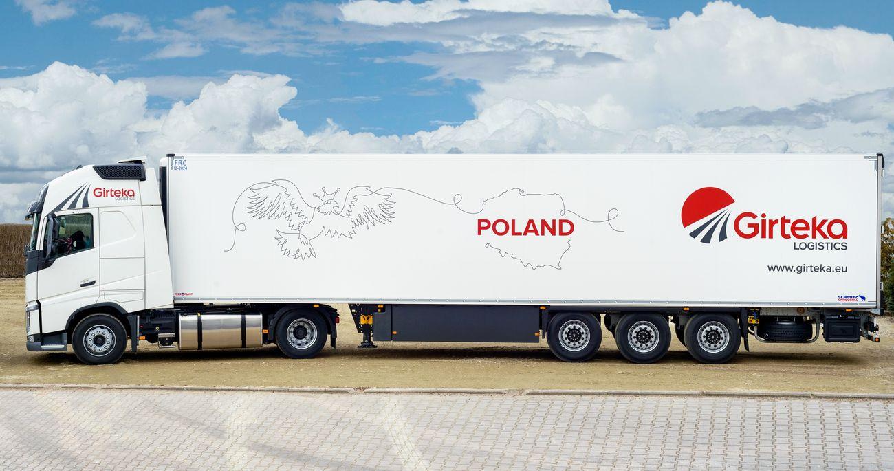 Girteka szuka w Polsce kierowców ciężarówek do pracy w nowym oddziale. Jakie warunki oferuje?