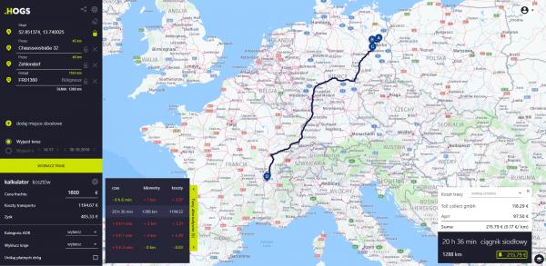 Ile przewoźnik zarabia i traci na transportach (zobacz tabele)