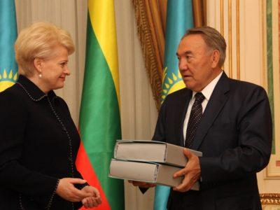 Pernai Lietuvos ir Kazachstano prekybos apyvarta siekė 1,227 mlrd. Eur. Šiais metais partneriai stiprins bendradarbiavimą