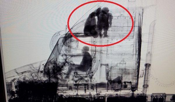 """Imigrantai rentgeno nuotraukoje. Štai kaip amerikiečiai """"susidoroja"""" su nekviestais svečiais"""