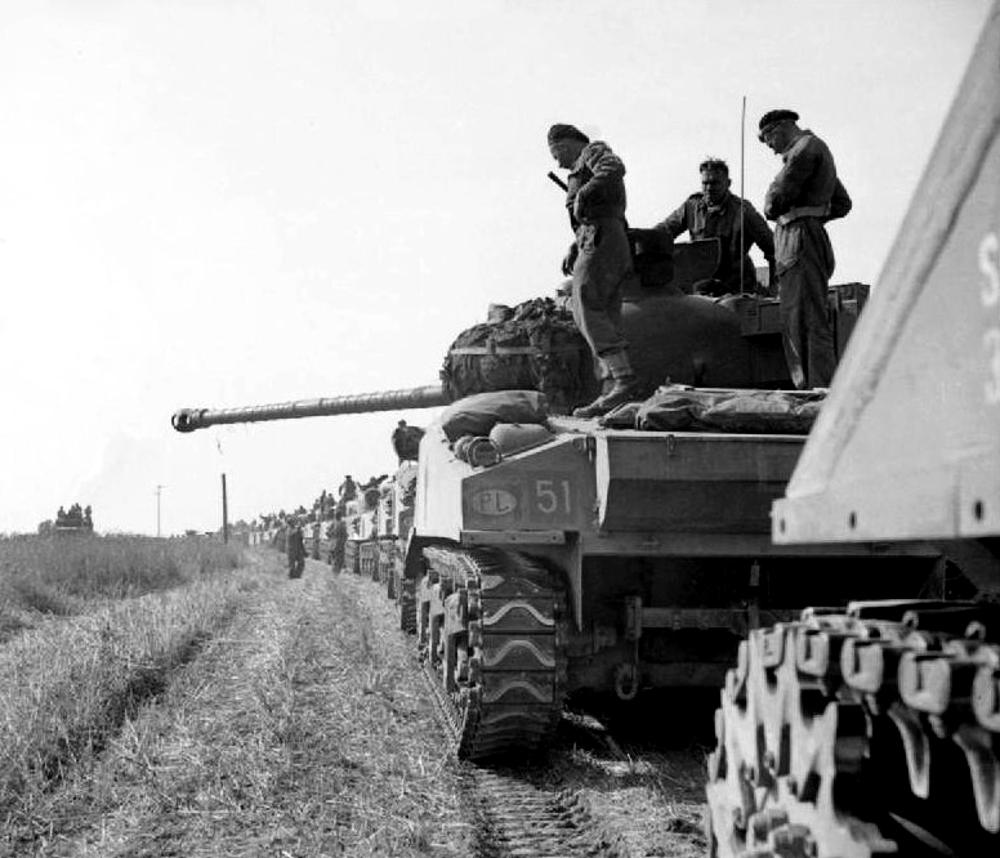 Historia transportu – odc. 60. O tym, jak starzy kierowcy wsparli żołnierzy generała Maczka