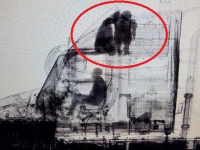 Imigranci na zdjęciu rentgenowskim. Tak Amerykanie radzą sobie z łapaniem nieproszonych gości