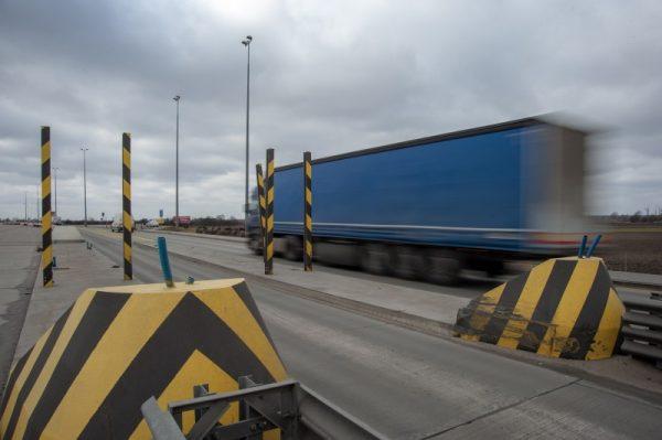Dzisiaj rozpoczyna się likwidacja nieczynnego punktu poboru opłat na autostradzie A2 w Pruszkowie. R