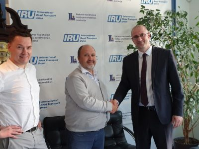 """""""Linava"""": Su IRU atstovu aptarta vežėjų ateitis elektroninėje erdvėje"""