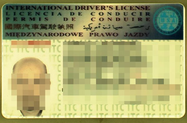 Customs officers haven't seen such driving licenses yet, or how one Romanian wanted to enter Poland