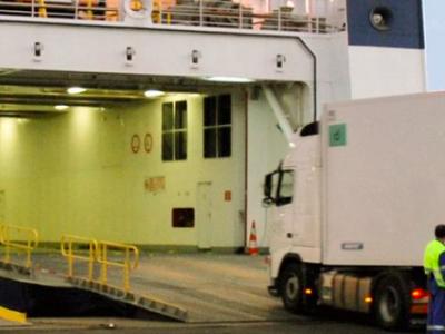 Az első határt átlépő intermodális szállítmány e-CMR használatával
