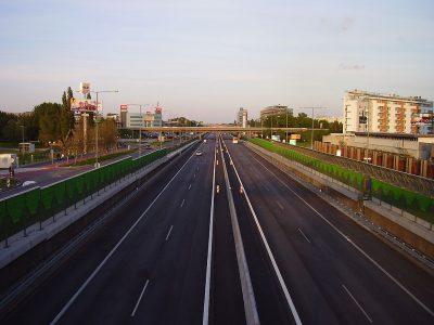 Ограничения дорожного движения в Словакии в 2019 году