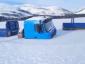 Rusijoje žiema nustebino vairuotojus. Jų sunkvežimiai įstrigo… upėje