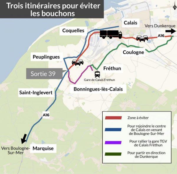 Протесты сотрудников таможни во французских портах все еще продолжаются. Водители должны подготовить