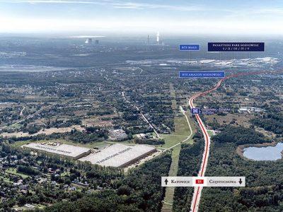 Nowe centrum logistyczne w Sosnowcu ma już pierwszego najemcę
